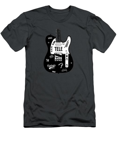 Fender Telecaster 58 Men's T-Shirt (Athletic Fit)