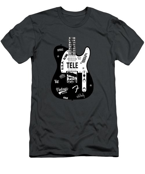 Fender Telecaster 64 Men's T-Shirt (Athletic Fit)