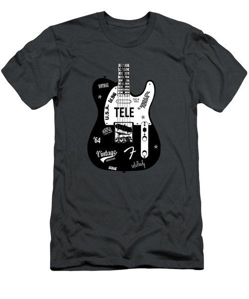 Fender Telecaster 64 Men's T-Shirt (Athletic Fit)