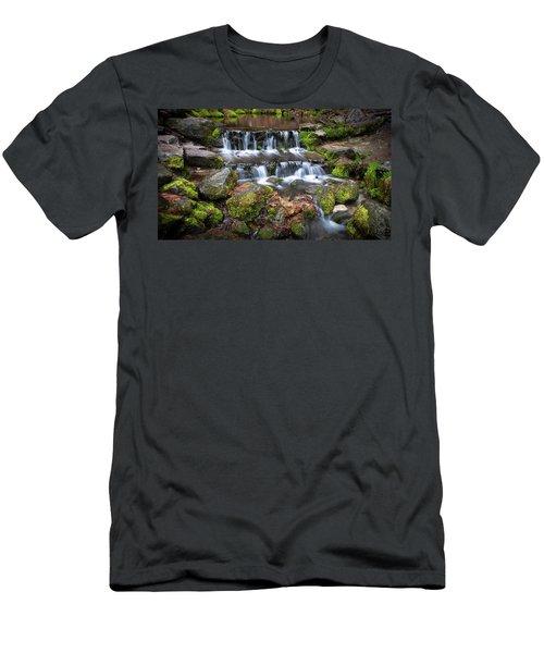 Fern Springs Men's T-Shirt (Athletic Fit)