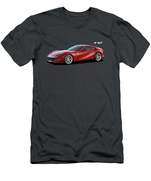 Ferrari F12 Men's T-Shirt (Athletic Fit)