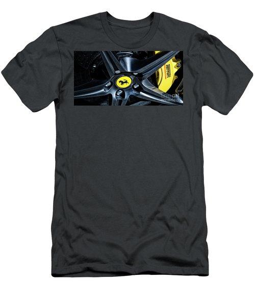 Ferrari Wheel I Men's T-Shirt (Athletic Fit)
