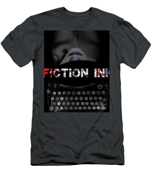 Fiction Ink Men's T-Shirt (Slim Fit) by Nola Lee Kelsey