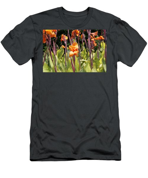 Field For Iris Men's T-Shirt (Athletic Fit)