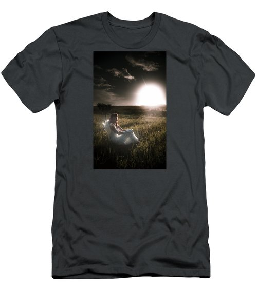 Men's T-Shirt (Athletic Fit) featuring the photograph Field Of Dreams by Jorgo Photography - Wall Art Gallery