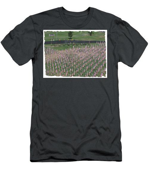 Field Of Flags - Gotg Arial Men's T-Shirt (Athletic Fit)