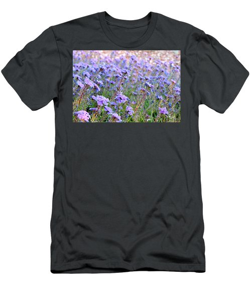 Field Of Lavendar Men's T-Shirt (Athletic Fit)