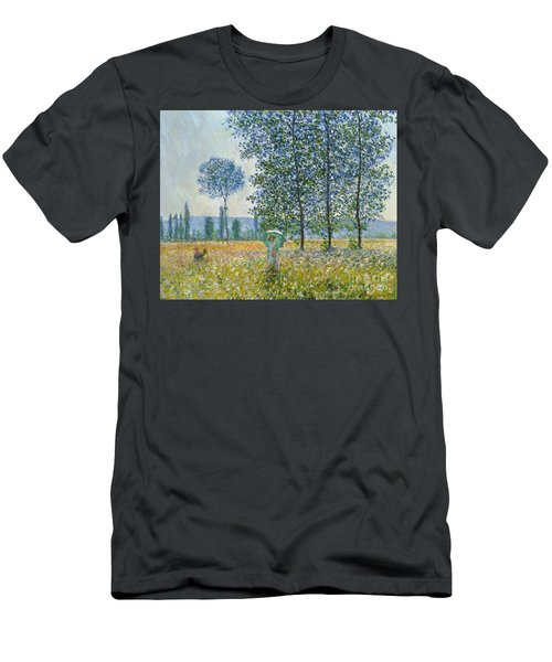 Fields In Spring, 1887 Men's T-Shirt (Athletic Fit)