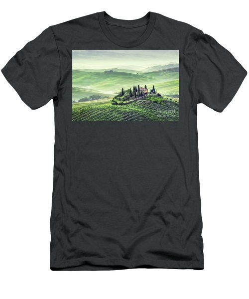 Fields Of Eternal Harmony Men's T-Shirt (Athletic Fit)