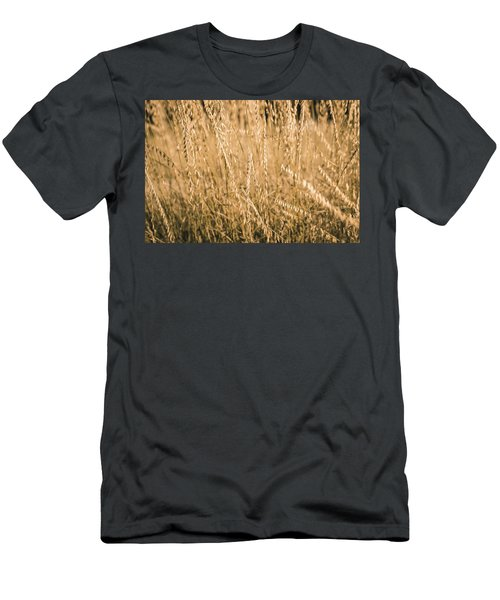 Men's T-Shirt (Athletic Fit) featuring the photograph Fields Of Gold by Allin Sorenson