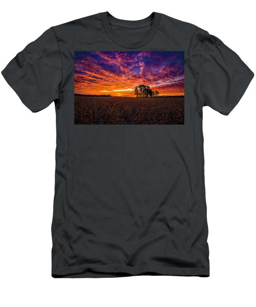 Fiery Dawn At Center Grove Men's T-Shirt (Athletic Fit)