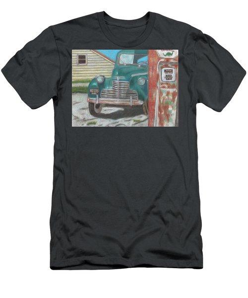 Fill 'er Up Men's T-Shirt (Slim Fit) by Arlene Crafton