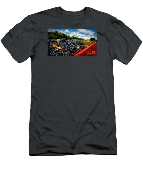 Filling The Red Wagon Men's T-Shirt (Slim Fit) by Lainie Wrightson