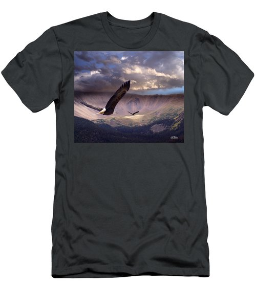 Finding Tranquility Men's T-Shirt (Athletic Fit)