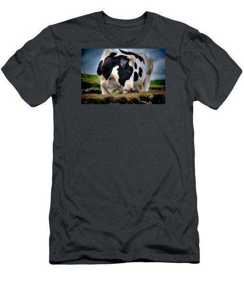 Fine Art Colour-136 Men's T-Shirt (Athletic Fit)
