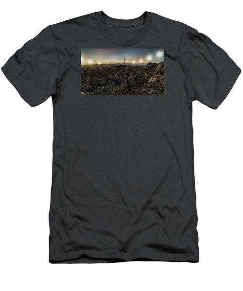 Finger Mountain Solstice Men's T-Shirt (Athletic Fit)