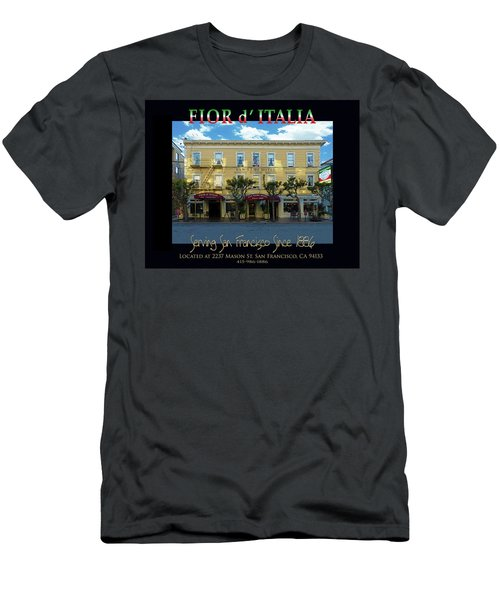 Fior D' Italia Since 1886 Men's T-Shirt (Slim Fit) by Robert J Sadler
