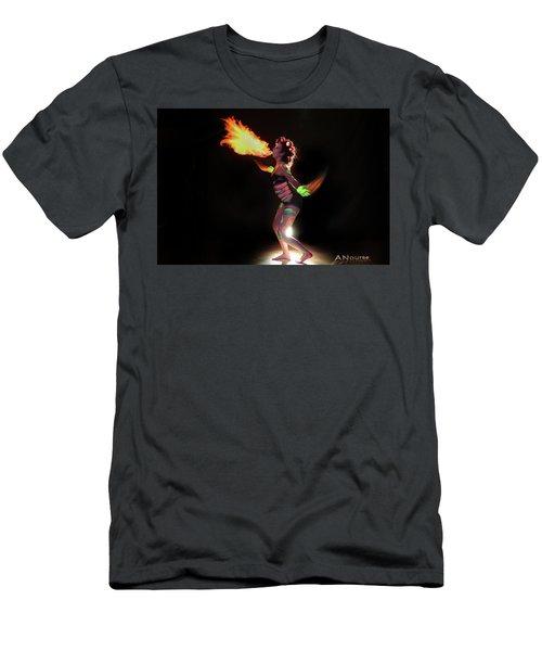 Fire Blowin Men's T-Shirt (Athletic Fit)
