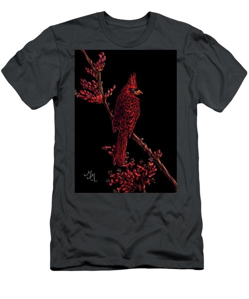 Fire Cardinal Men's T-Shirt (Athletic Fit)