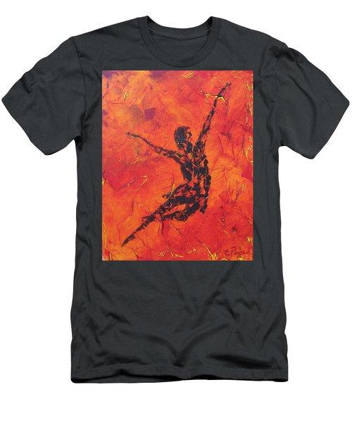 Fire Dancer Men's T-Shirt (Athletic Fit)