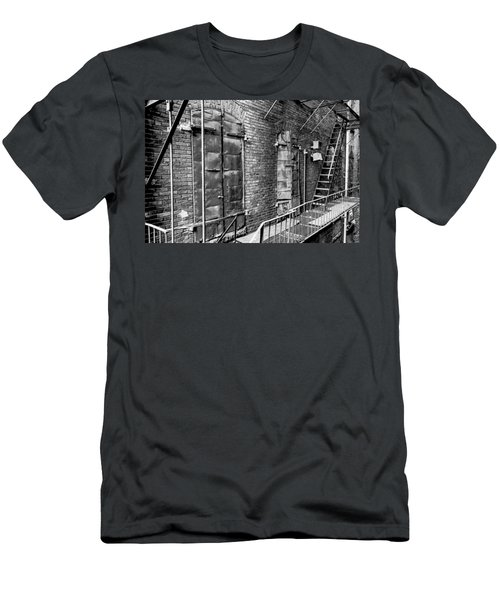 Fire Escape And Doors Men's T-Shirt (Athletic Fit)