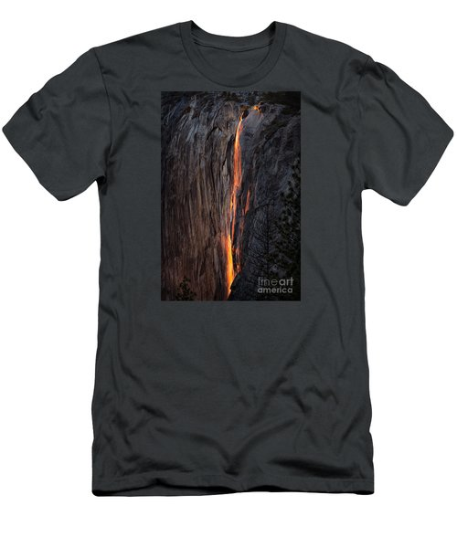 Fire Fall Men's T-Shirt (Athletic Fit)
