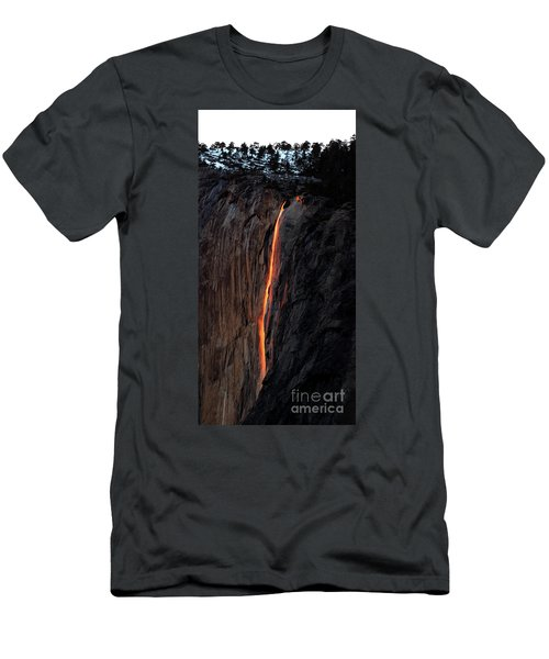 Fire Falls - 2016 Men's T-Shirt (Athletic Fit)
