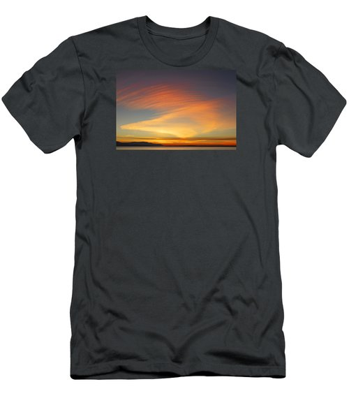 Fire In The Sky Men's T-Shirt (Slim Fit) by Elvira Butler