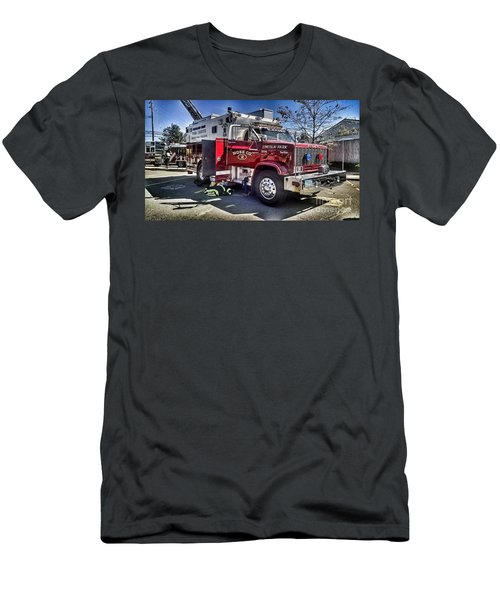 Firemen Honor And Sacrifice #1 Men's T-Shirt (Athletic Fit)