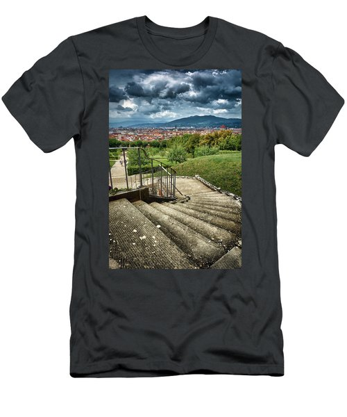 Firenze From The Boboli Gardens Men's T-Shirt (Athletic Fit)