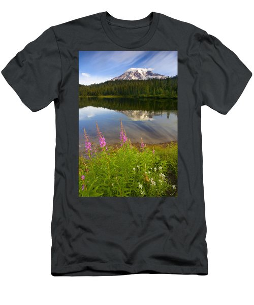 Fireweed Reflections Men's T-Shirt (Athletic Fit)