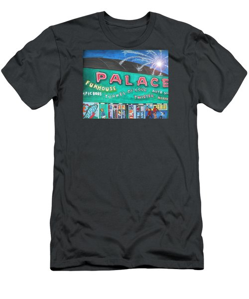 Fireworks At The Palace Men's T-Shirt (Slim Fit) by Patricia Arroyo