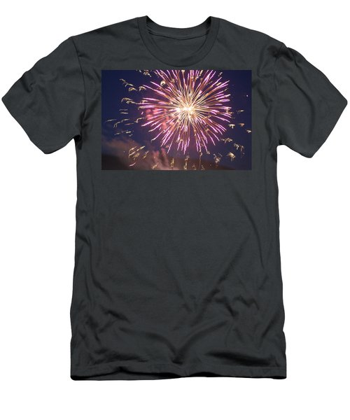 Fireworks In The Park 2 Men's T-Shirt (Athletic Fit)