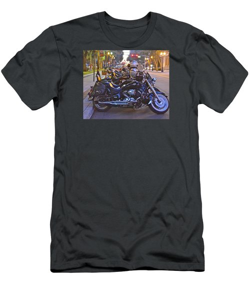 First Friday Bike Night Men's T-Shirt (Athletic Fit)