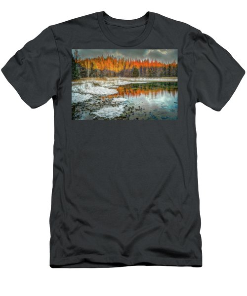 First Light At 3 Springs Men's T-Shirt (Athletic Fit)