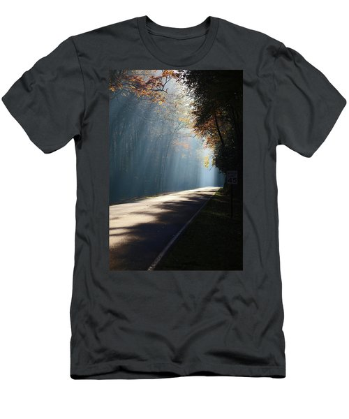 First Light Men's T-Shirt (Slim Fit) by Lamarre Labadie