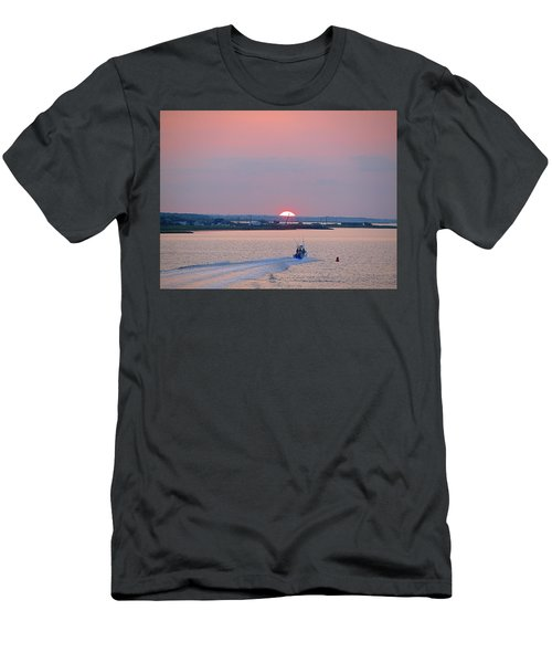 First Light Men's T-Shirt (Slim Fit) by  Newwwman