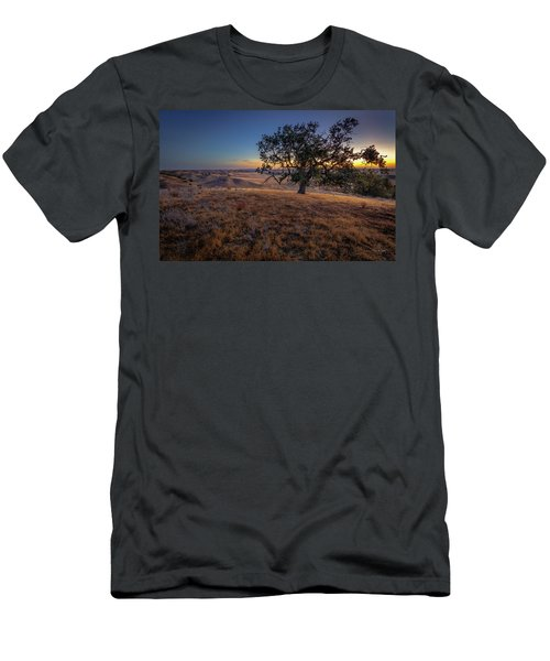 First Light On The  Canyon Ranch Men's T-Shirt (Athletic Fit)