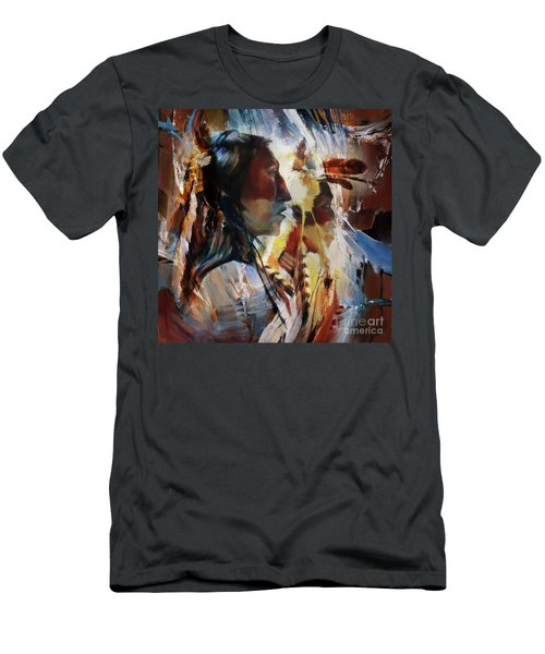 First Nation 67yu Men's T-Shirt (Slim Fit) by Gull G