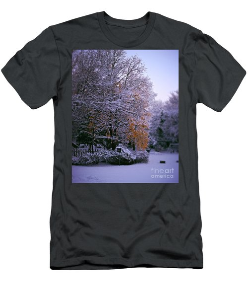 First Snow After Autumn Men's T-Shirt (Athletic Fit)