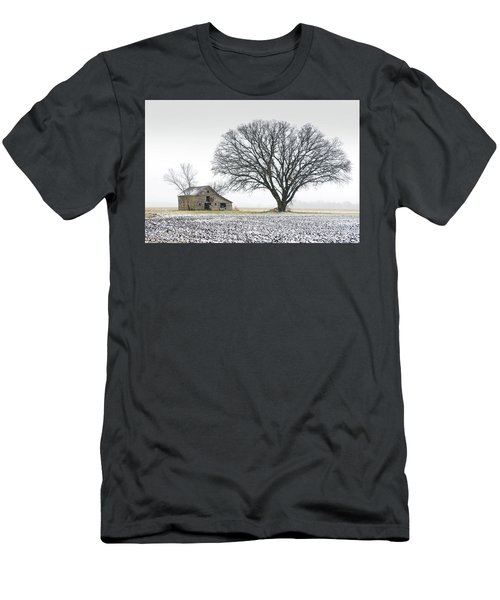 Winter's Approach Men's T-Shirt (Slim Fit) by Christopher McKenzie