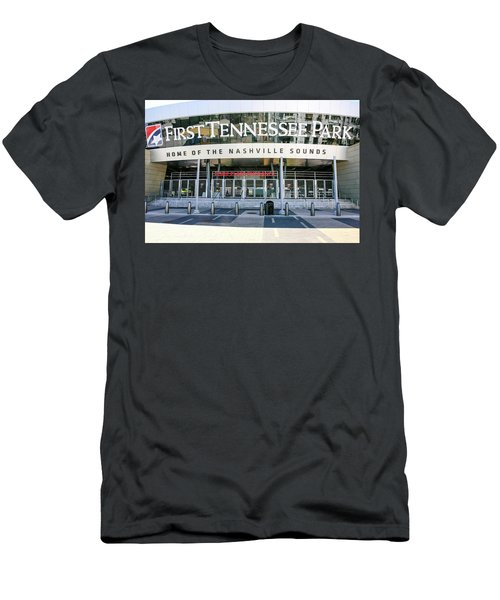 First Tennessee Park, Nashville Men's T-Shirt (Athletic Fit)