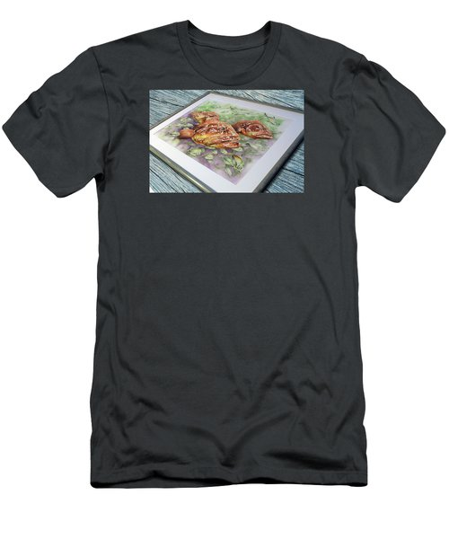 Fish Bowl 2 Men's T-Shirt (Slim Fit) by William Love