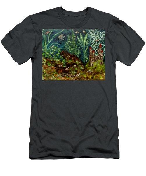Fish Kingdom Men's T-Shirt (Athletic Fit)