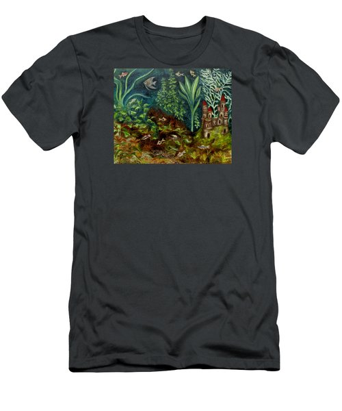 Fish Kingdom Men's T-Shirt (Athletic Fit)