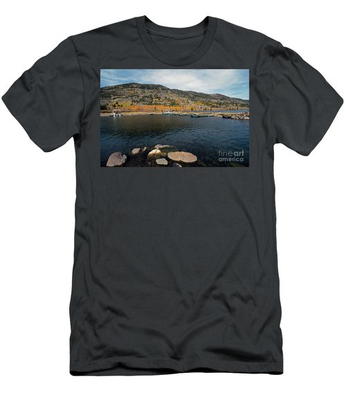 Fish Lake Ut Men's T-Shirt (Athletic Fit)