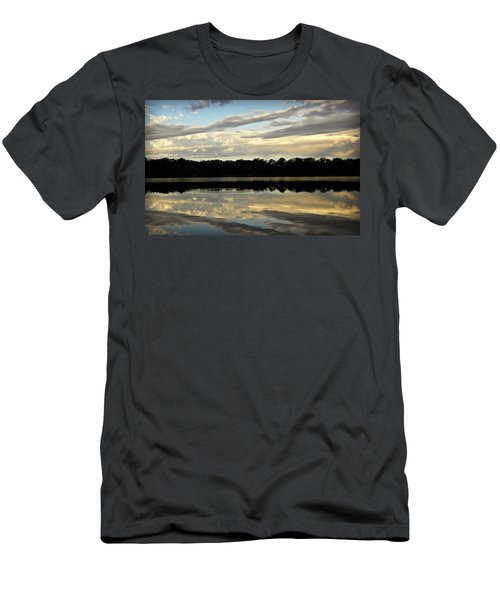 Men's T-Shirt (Slim Fit) featuring the photograph Fish Ring by Chris Berry