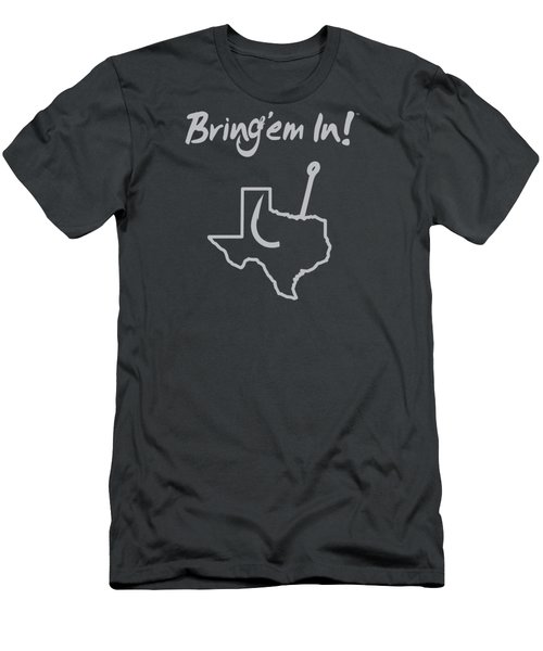 Fish Texas Men's T-Shirt (Athletic Fit)