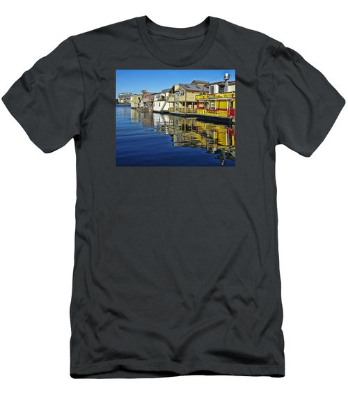 Fisherman's Wharf Men's T-Shirt (Athletic Fit)