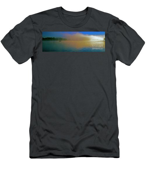 Fishing Boat Day Break  Men's T-Shirt (Athletic Fit)
